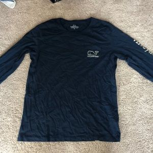 Dark blue long sleeve vineyard vines